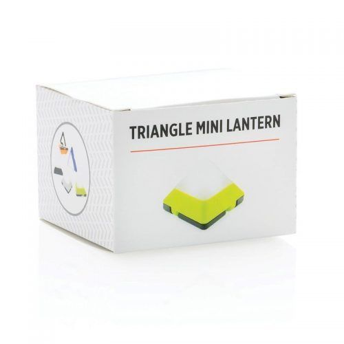 Mini linterna triangular