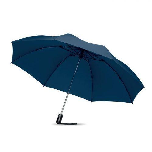 Paraguas plegable y reversible