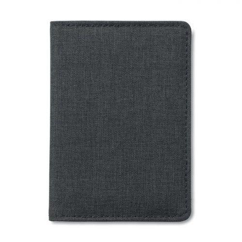Porta tarjetas crédito 2 tonos