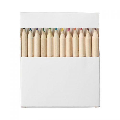 Set de 12 lápices y tarjetas para colorear
