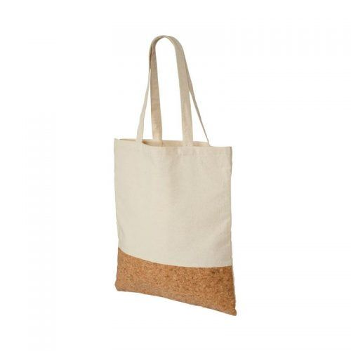 Bolsa algodón de 175 grs con panel de corcho