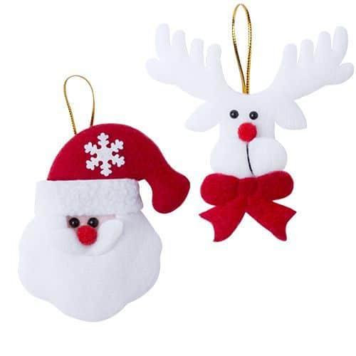 Set 2 Adornos Navidad