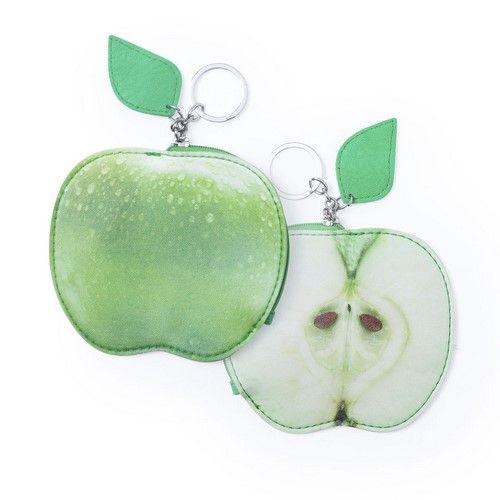 Monedero en forma de fruta