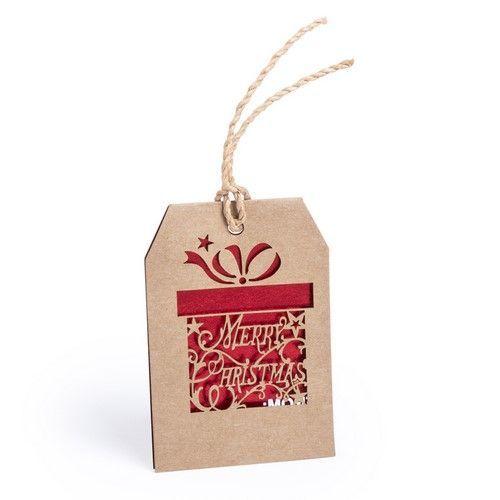 Adorno etiqueta para regalo