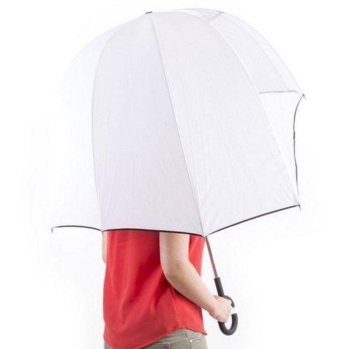 Paraguas asímetrico con mango