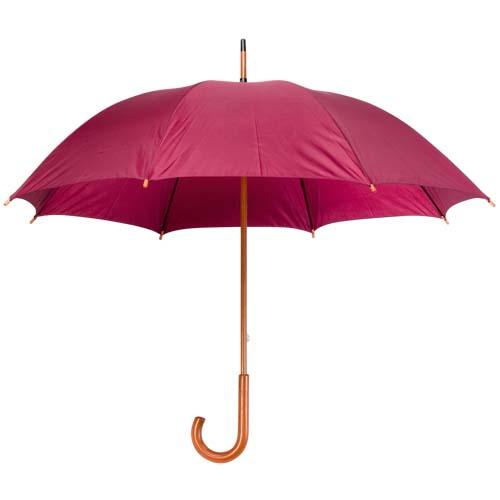 Paraguas con mango madera