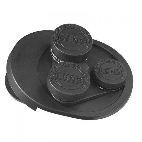 Kit de lentes giratorias para cámara 4 en 1