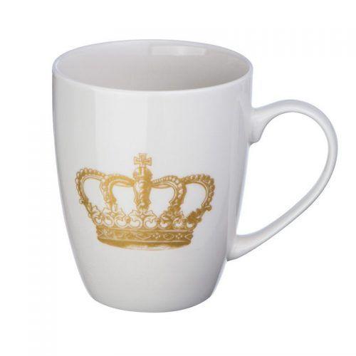 Taza con corona
