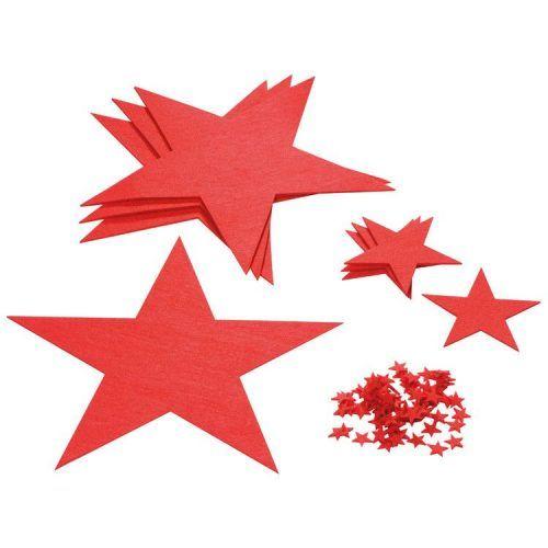 Set estrellas decorativas
