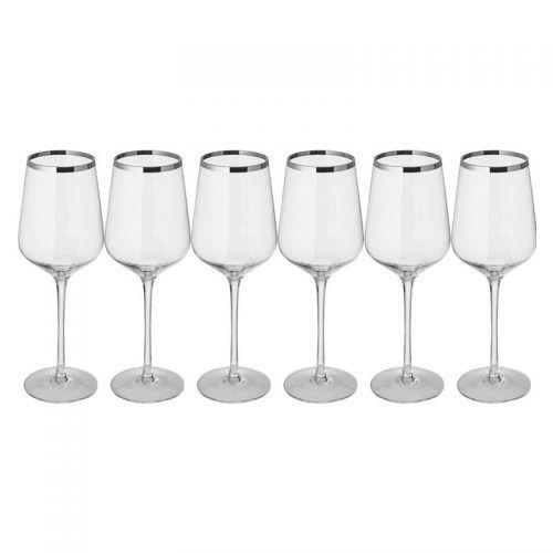 Set 6 copas de vino blanco