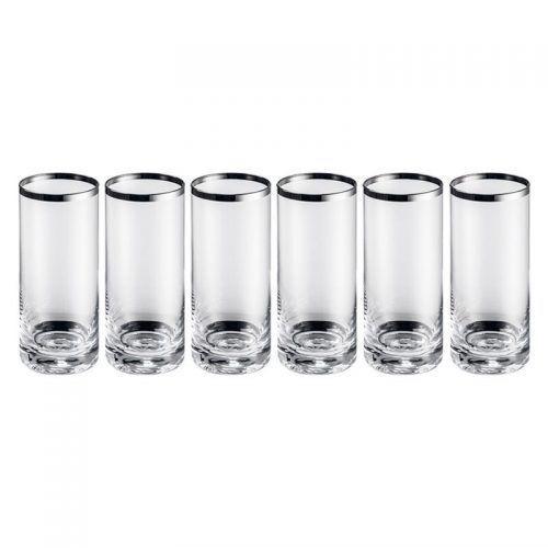 Set 6 vasos de tubo