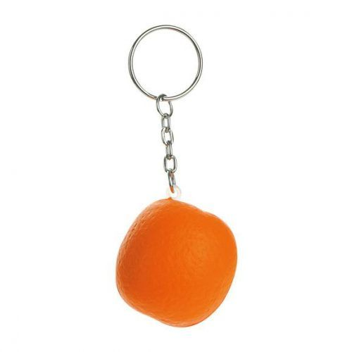 Naranja llavero antiestrés