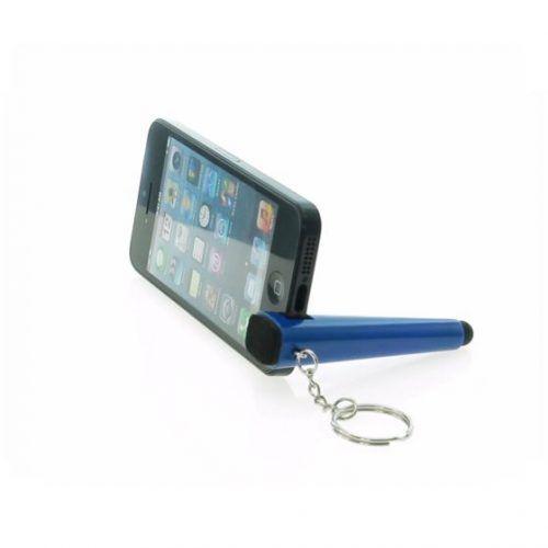 Llavero soporte móvil y puntero