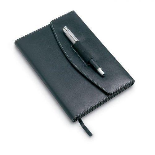 Portafolios con bolígrafo tamaño A5