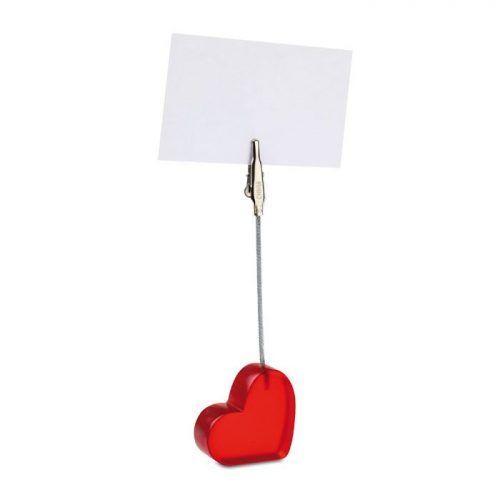 Clip de notas corazón