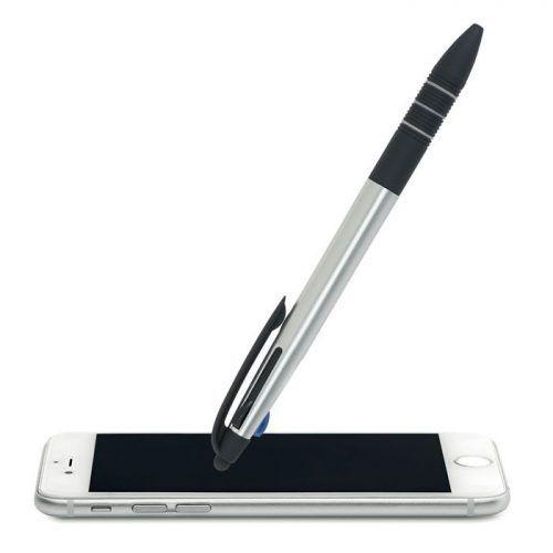 Bolígrafo táctil de tres tintas