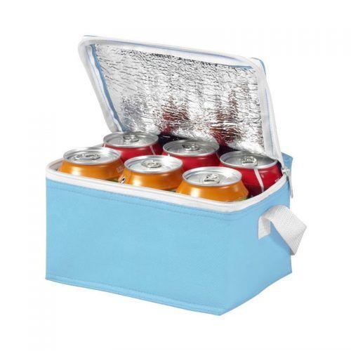 Bolsa isotérmica para 6 latas