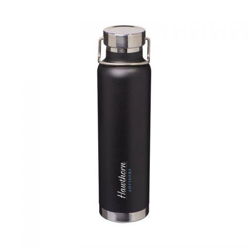 Botella isotérmica Negro intenso