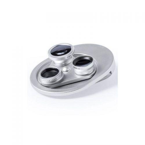 Original sistema de lentes universales 4 en 1 para smartphone