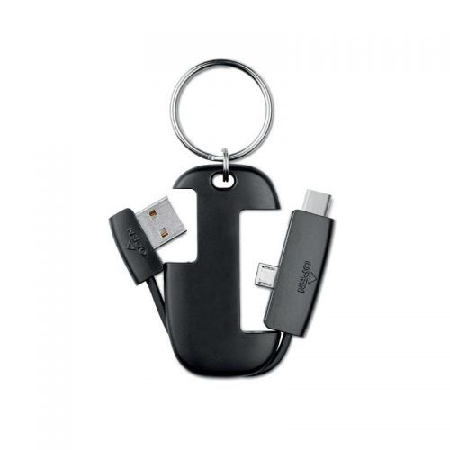 Llavero con conectores USB