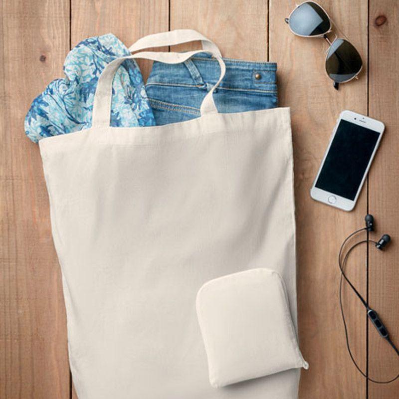 Bolsa plegable de algodón.     MO9283-06