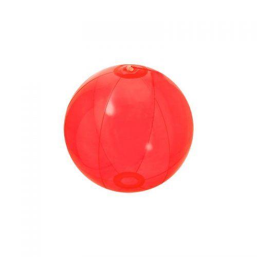 Balón hinchable translúcido promocional.