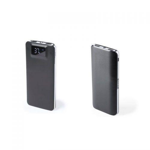Powerbank Antonio Miró,1 Led. 2 Salidas USB. 5000 mAh. Cable Incluido