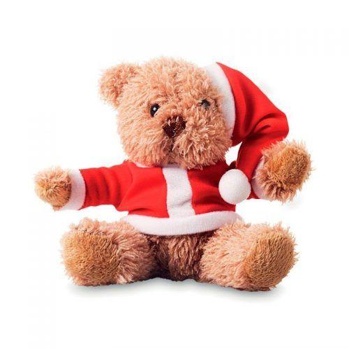 Oso peluche Papá Noel.
