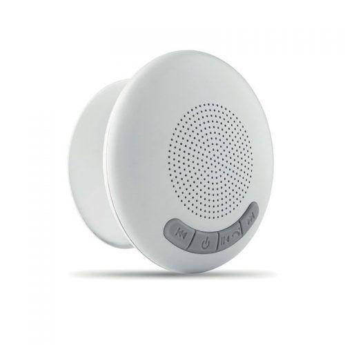 Altavoz baño Bluetooth.