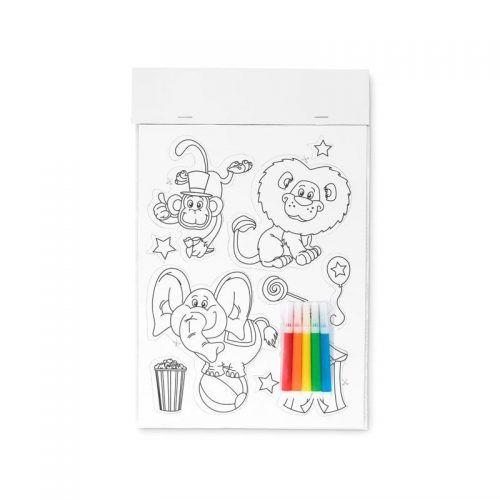 Stickers magnéticos para colorear.