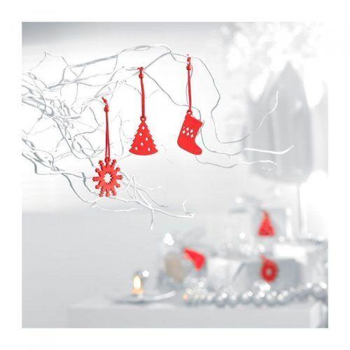 Set de 12 adornos para árbol navidad