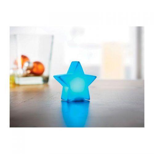 Estrella con luz cambiante.