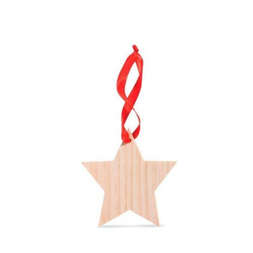 Estrella de madera.