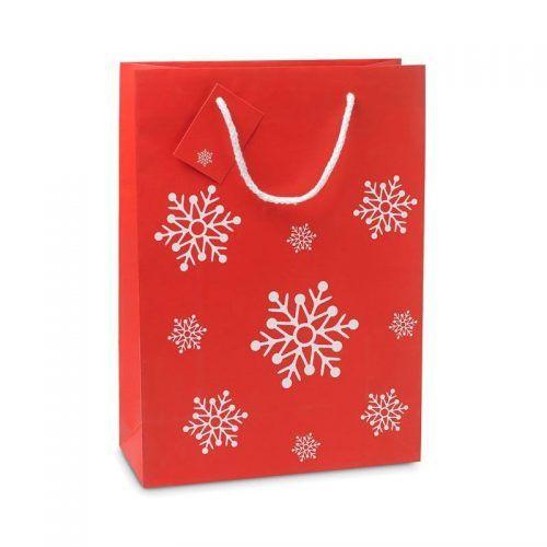 Bolsa tamaño grande Navidad.