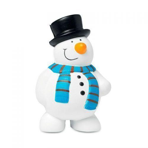 Muñeco de nieve antiestrés.