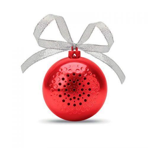 Altavoz Bluetooth en forma de bola de Navidad.