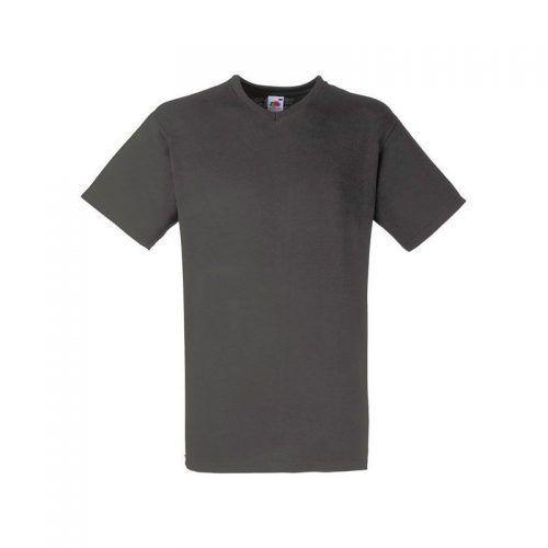 Camiseta cuello de pico con tu logo