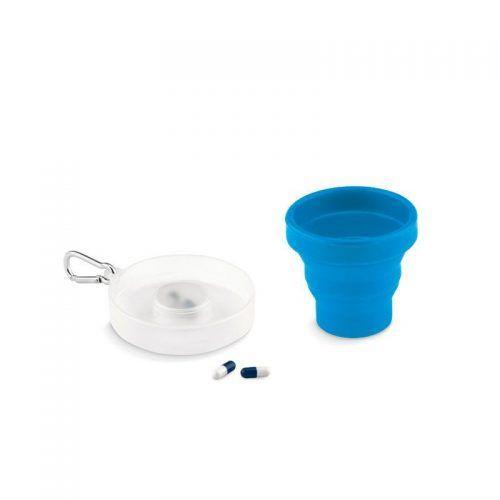 Vaso plegable en silicona