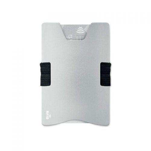 Tarjetero de aluminio con RFID personalizable