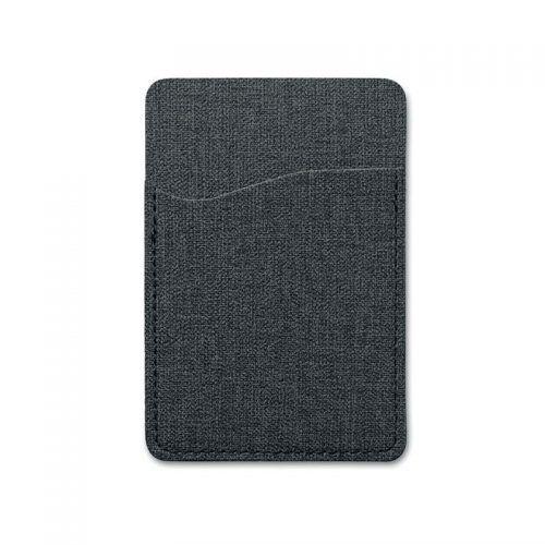 Tarjetero con RFID en dos tonos