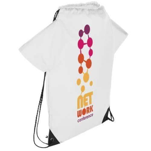 Mochila en forma de camiseta personalizable