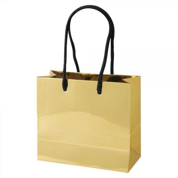 Set de 20 bolsas doradas personalizables