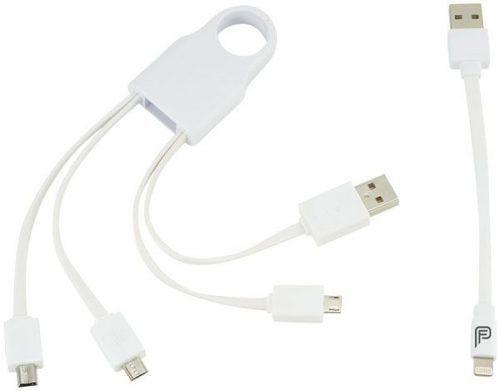 Cable de carga 5 en 1 con tu logo