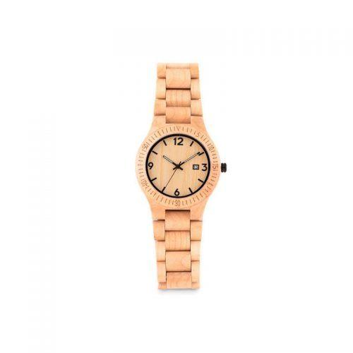 Reloj de madera con tu logo