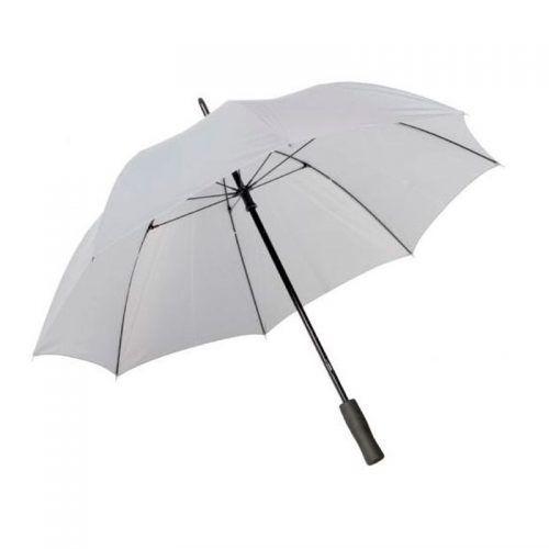 Paraguas merchandising plateado