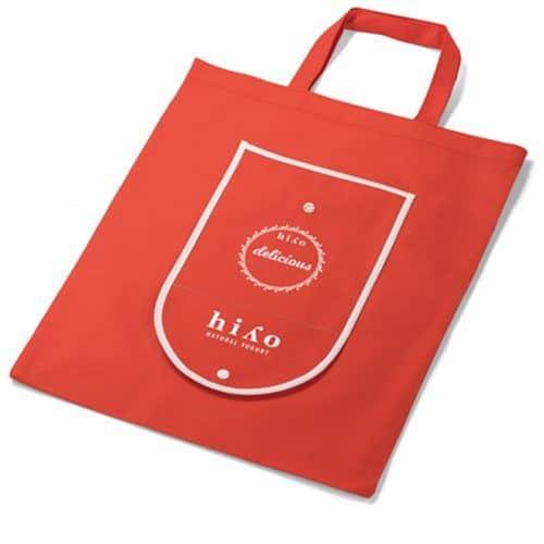 Bolsa plegable con tu logo