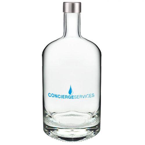 Botella cristal clásica personalizada