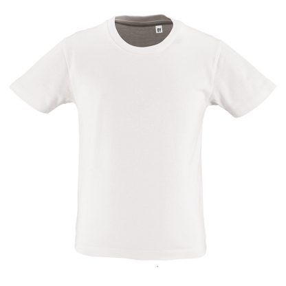 Camiseta eco niño blanca
