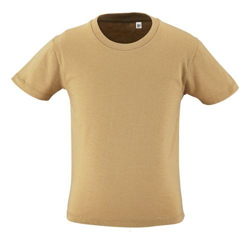 Camiseta eco niño color