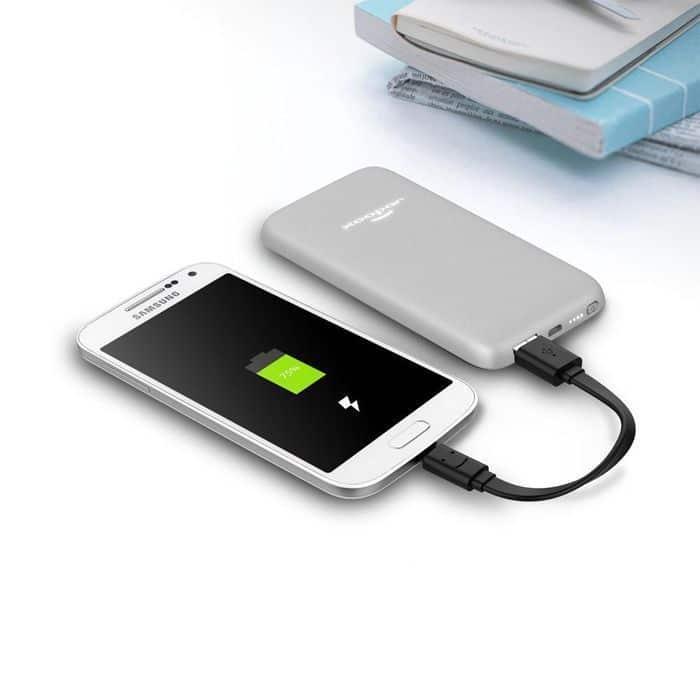 Bateria externa iluminada con tu logo